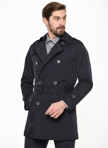 Beymen Business Trenchcoat Lacivert
